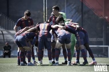El FCB Juvenil A esta temporada en la CE Joan Gamper: Foto: Noelia Déniz, VAVEL