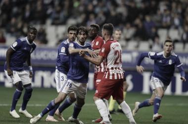 Encuentro de ida entre Oviedo y Almería | Imagen: Real Oviedo