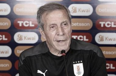 Óscar Tabárez- Entrenador de la Selección uruguaya