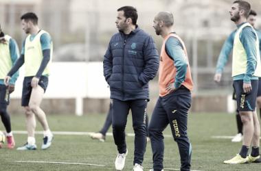 Javier Calleja: ''Será un partido muy complicado, ante un rival rocoso''
