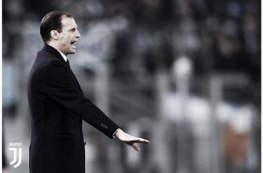 """Allegri: """"Quería una Juventus sólida. Equipo fantástico desde hace seis años"""""""