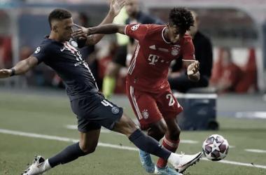 Kingsley Coman fue el encargado de marcar el gol del título./ Twitter: Bayern Múnich oficial