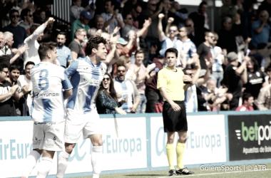 Fullana clebra el 3-0|Foto: Atlético Baleares