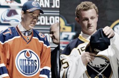 Connor McDavid y Jack Eichel confían en cambiar la suerte de sus equipos (Foto: foxsports.com)