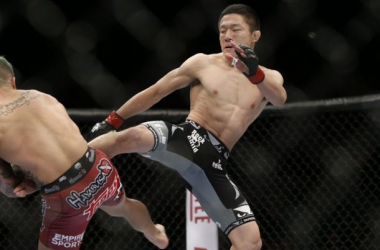 Kyoji Horiguchi has a chance at UFC gold at this weekends UFC 186 / mmafighting.com