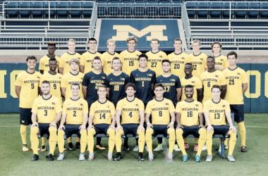 University of Michigan Men's Soccer 2017 team photo. | Photo: MGoBlue.com