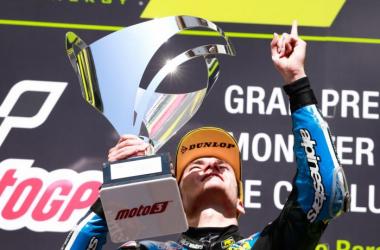 Moto 3 : Navarro enfin récompensé