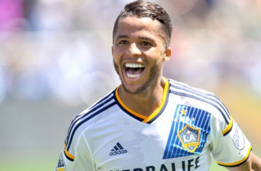 Giovani dos Santos will have to be the driving force for the LA Galaxy on Wednesday against Santos Laguna in the quarterfinals of the CONCACAF Champions League at the StubHub Center. Photo provided by Gary A. Vasquez-USA TODAY Sports.