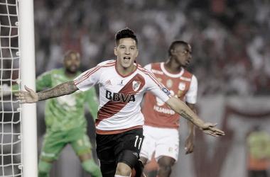 Driussi fue uno de los goleadores para ganar la Supercopa Sudamericana en 2019. (Foto web)