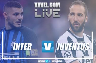 Inter - Juventus in diretta, LIVE Serie A 2017/18 - Costa, Icardi, Perisic, Cuadrado, Higuain! (2-3)