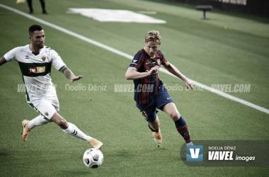 Frenkie De Jong en el Camp Nou 2021| Foto: Noelia Déniz- VAVEL
