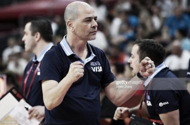 Sergio Hernández fue subcampeón del mundo en China 2019. Foto: GettyImages