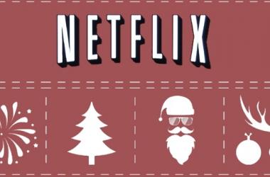 Logo de Netflix ambientado en la época navideña (blogdelregio.com)