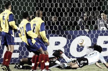 La tercera semifinal entre Argentina y Colombia