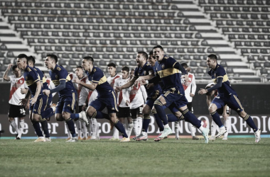 Foto: Boca eliminó a River y pasó a Cuartos de final.