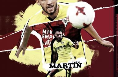 Iván Martín, nuevo jugador del CD Mirandés | Fuente: www.cdmirandes.com