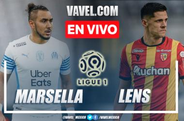 Goles y resumen del Marsella 2-3 Lens en Ligue 1
