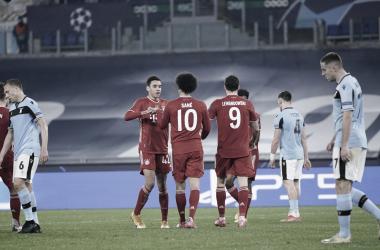 Bayern München con un pie en cuartos de Champios League, golea 1-4 a Lazio
