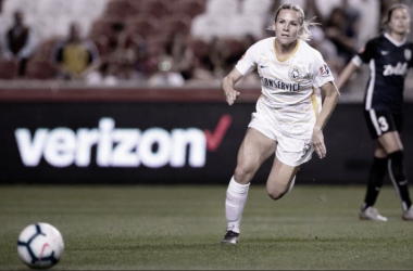 Amy Rodriguez scored for the Royals in the 67th minute. Photo: www.twitter.com/UtahRoyalsFC