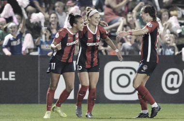 Mallory Pugh scored for the Spirit in the 75th minute. Photo: www.twitter.com/WashSpirit