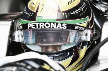 El británico esperando para salir a pista | Foto: Fórmula 1