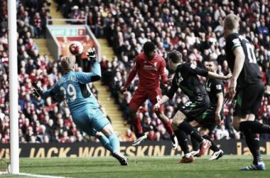 Risultato Liverpool 4-1 Stoke City in Premier League 2016/17