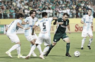 Com empate, Goiás perde chance de encostar no líder Fortaleza (Reprodução / Londrina)