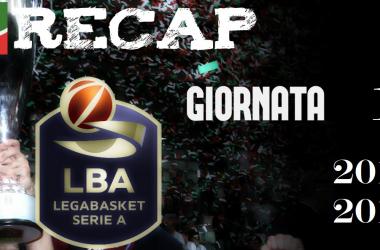 Legabasket: risultati e tabellini della prima giornata