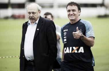 Sintonia entre diretoria e comissão? Foto: Ivan Storti/Santos FC