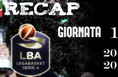 Legabasket Seria A: risultati e tabellini della 14esima giornata
