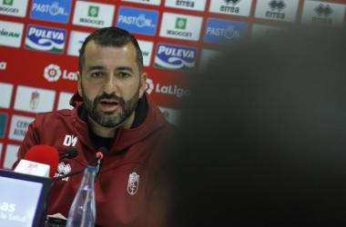 Diego Martínez en rueda de prensa. Foto: Antonio L. Juárez