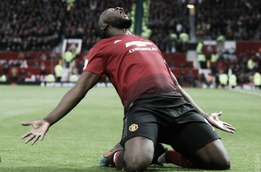 Lukaku fez o gol que garantiu a vitória dos Red Devils (Reprodução / Manchester United)