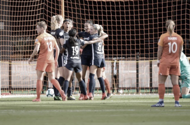 North Carolina Courage Defeat Houston Dash 4-1