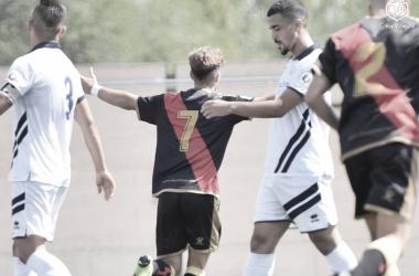 Celebración del gol | Foto: Rayo Vallecano S.A.D.