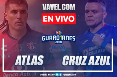 Goles y resumen: Atlas 1-0 Cruz Azul en Guardianes 2020