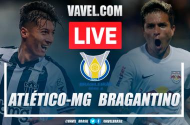 Gols e melhores momentos Atlético-MG 2x1 RB Bragantinopelo Campeonato Brasileiro