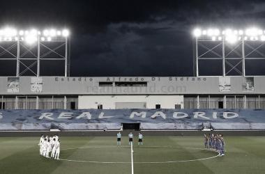 Los blancos ante los azulgranas | Foto: Real Madrid CF