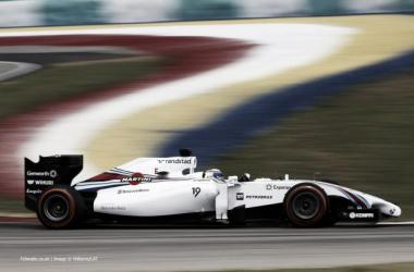 Uma boa época de estreia na Williams para o brasileiro ( foto: f1fanatic.co.uk)