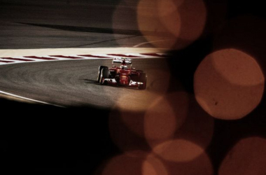 Kimi foi o melhor em pista (foto: Ferrari)