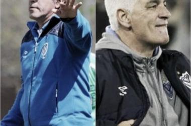 Anuario Velez Sarsfield Vavel 2017: Omar de Felippe y Marcelo Gomez.
