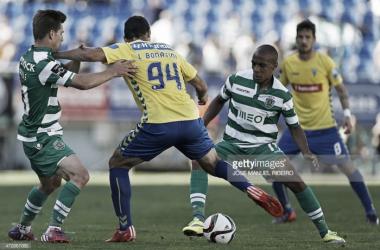 Adrien e João Mário, os motores do futebol leonino.