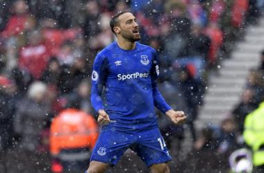 Tre gol nelle ultime tre per Cenk Tosun. | Everton, Twitter.