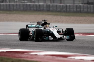 El Mercedes W08 de Lewis Hamilton | Foto: Fórmula 1