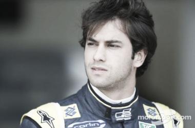O novo piloto Sauber para 2015 ( Foto : GP2 media service)