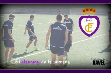 Planning semanal del Real Jaén