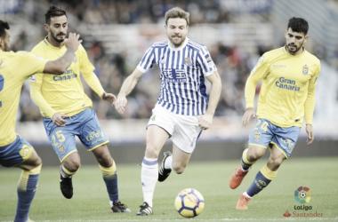 Real Sociedad - UD Las Palmas: puntuaciones de la Real Sociedad, jornada 13 de Liga Santander
