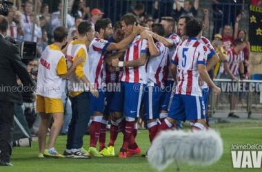El Atlético de Madrid se acostumbra a ganar