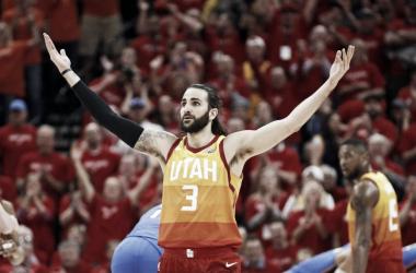 Los Jazz se enfrentarán a los Rockets en semifinales de conferencia. Foto: AP Photo
