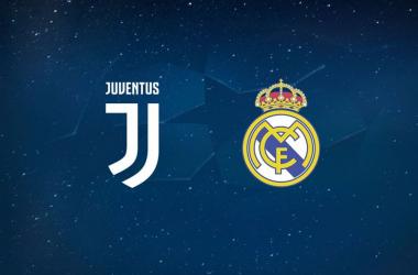 Gli stemmi di Juventus e Real Madrid.   juventus.com