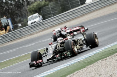 Maldonado foi o mais rápido do dia.